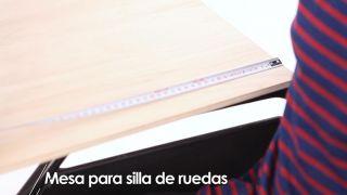 Cómo hacer una mesa para silla de ruedas - Paso 1