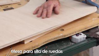 Cómo hacer una mesa para silla de ruedas - Paso 10