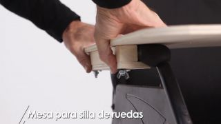 Cómo hacer una mesa para silla de ruedas - Paso 9