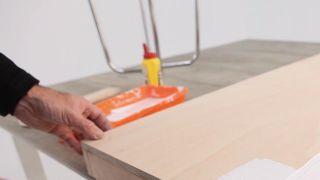 Cómo hacer un banco con taburetes - Paso 6