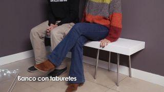 Cómo hacer un banco con taburetes - Paso 8