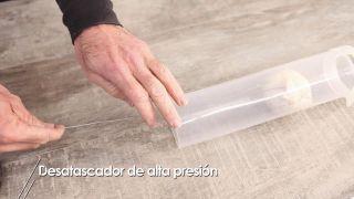 Desatascador de alta presión - Paso 1