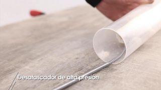 Desatascador de alta presión - Paso 3