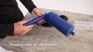Desatascador de alta presión - Paso 4