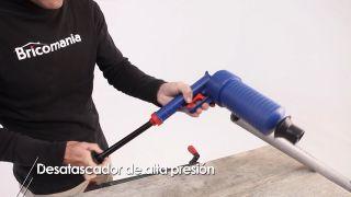 Desatascador de alta presión - Paso 5