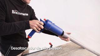 Desatascador de alta presión - Paso 6