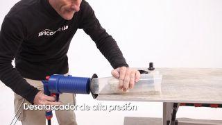 Desatascador de alta presión - Paso 7