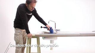 Desatascador de alta presión - Paso 8