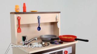 Cómo hacer una cocina de juguete con una mesita vieja