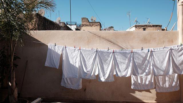 Cómo secar la ropa de cama