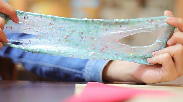 Cómo hacer slime casero con glitter