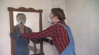 Renovación de dormitorio en casa abandonada - Paso 1