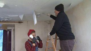 Renovación de dormitorio en casa abandonada - Paso 2