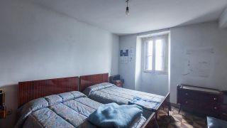 Dormitorio doble en tonos verdes - Antes