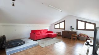 Decorar una sala de estar en un ático - Paso 1