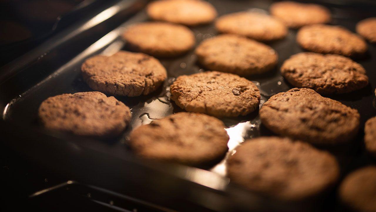 Horneado de las galletas