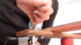 Cómo hacer un carro con un palé