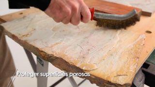 Cómo proteger superficies porosas