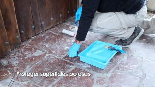 Cómo proteger superficies porosas