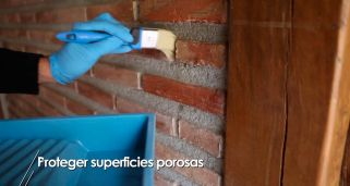 C�mo proteger superficies porosas