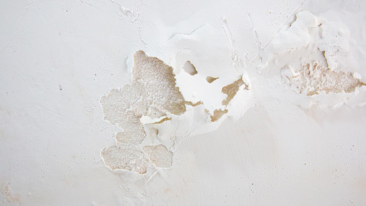 Reparar una humedad producida por filtracion