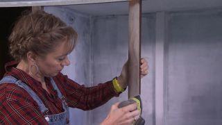 Convertir un armario viejo en un vestidor abierto - Paso 4