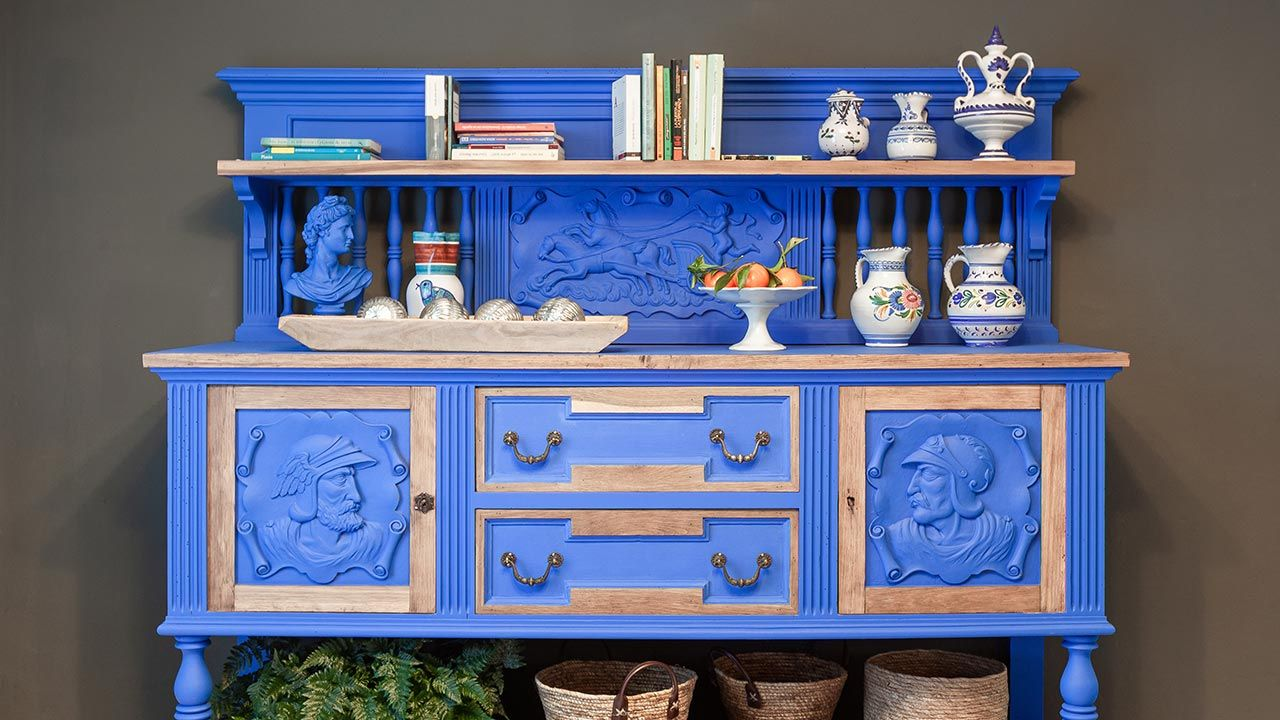 Muebles vintage barrocos reciclados
