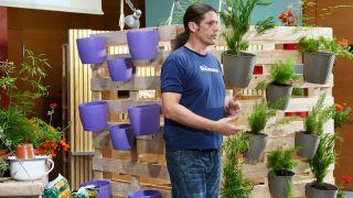 9 jardines verticales originales y reciclados