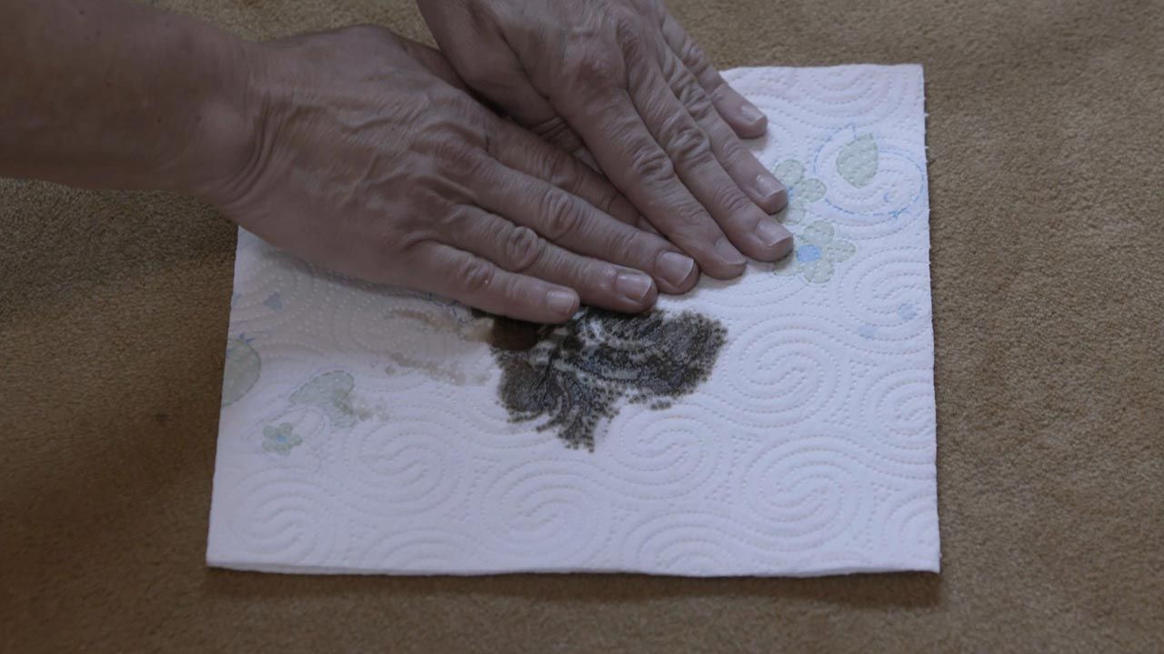 Limpiar grandes piezas o moquetas