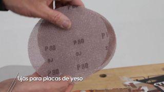 Lijas para placas de yeso laminado