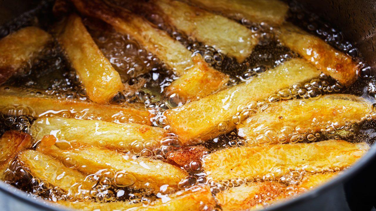 Patatas en la sartén