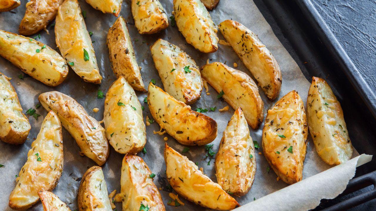Patatas al horno con especias.