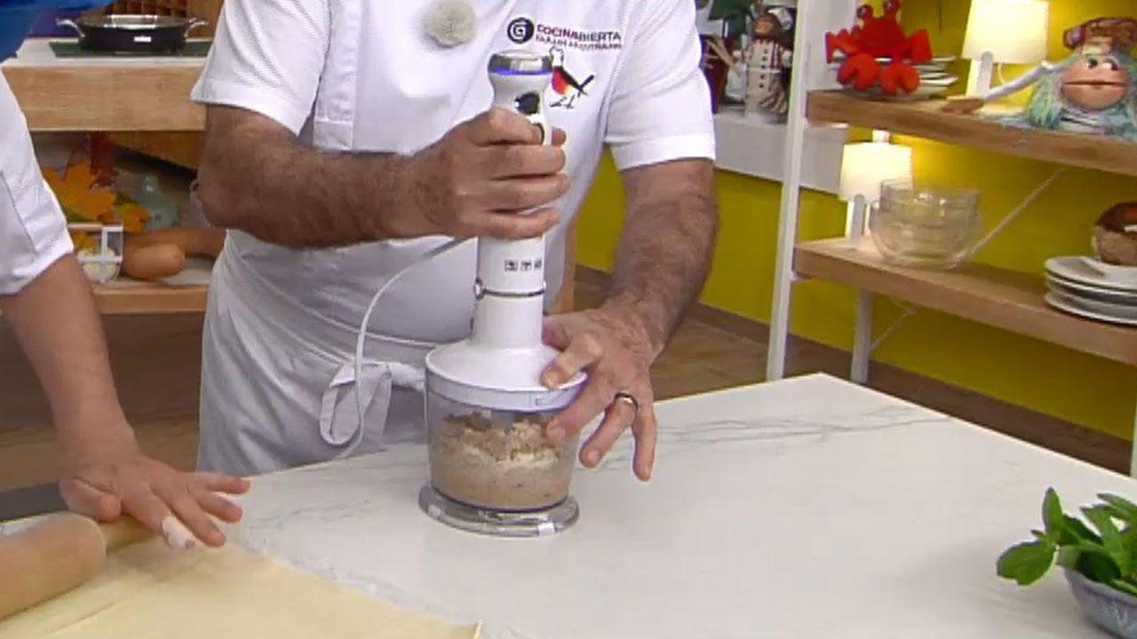 Elaboración de la crema de cacahuete casera de Eva Arguiñano