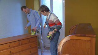 Transformar una sala antigua en un dormitorio acogedor con un toque vintage - Paso 3