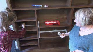 Transformar un salón destrozado en una sala luminosa en blanco - Paso 2