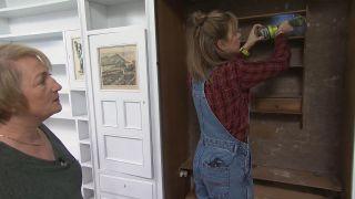 Transformar un salón destrozado en una sala luminosa en blanco - Paso 4