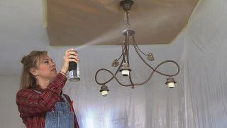 Transformar un salón destrozado en una sala luminosa en blanco - Paso 6