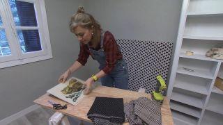 Transformar un salón destrozado en una sala luminosa en blanco - Paso 7