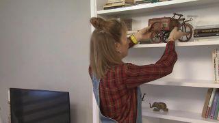 Transformar un salón destrozado en una sala luminosa en blanco - Paso 10