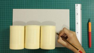 Organizador DIY con latas - Paso 2