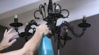 Pulverizar la lámpara