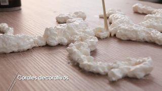 Cómo hacer corales decorativos