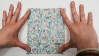 Cómo hacer una mascarilla de tela para niños - Paso 1
