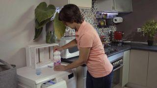 Cómo limpiar los trapos y dejarlos como nuevos - Paso 1 lavadora