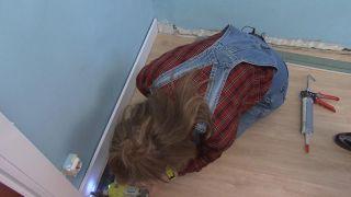 De estancia destrozada a dormitorio infantil relajado en tonos azules - Paso 4