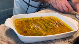 Receta de anhoas en vinagre - paso 1