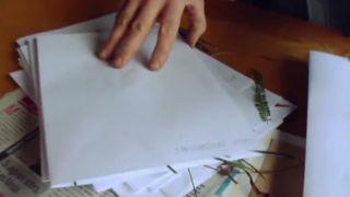Collage vegetal con hojas secas