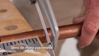 Sierra de mano para metal