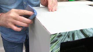 Cómo reciclar y decorar un sinfonier