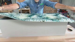 Truco para decorar cajones con papel pintado